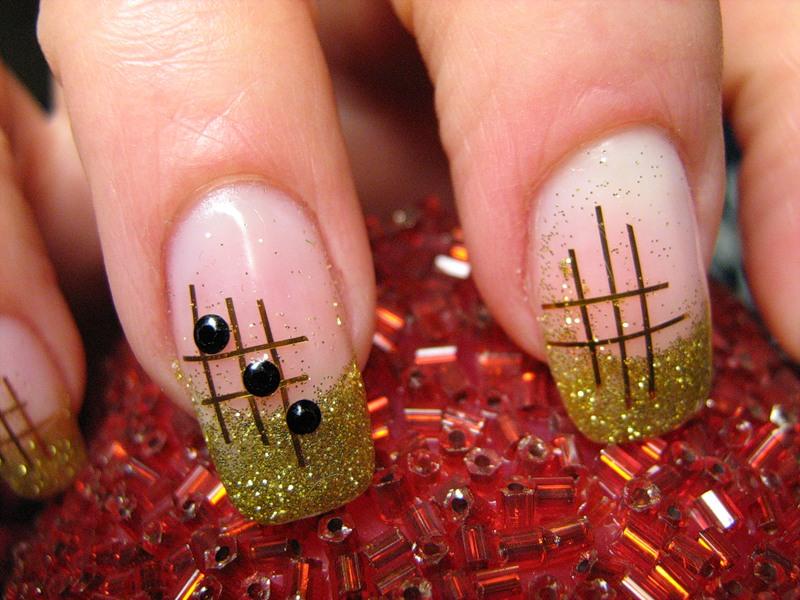 Маникюр дома на своих ногтях рисунки